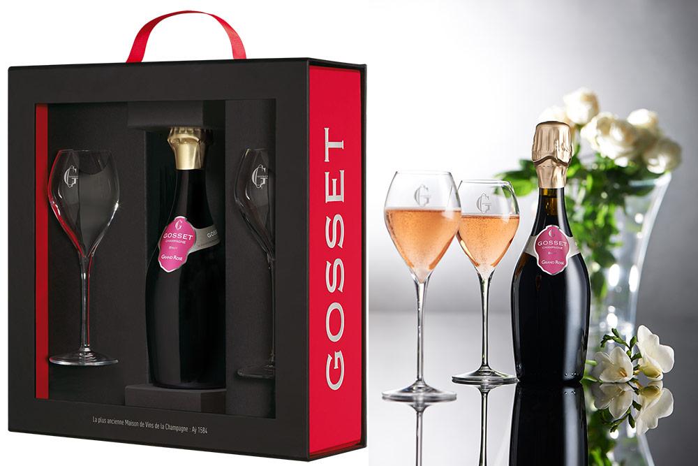 Cuvée Grand Rosé - Coffret Saint-Valentin