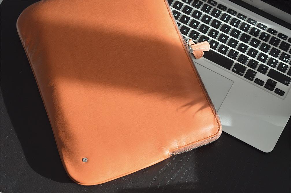 Housse en Cuir Noreve pour MackBook Pro 13'