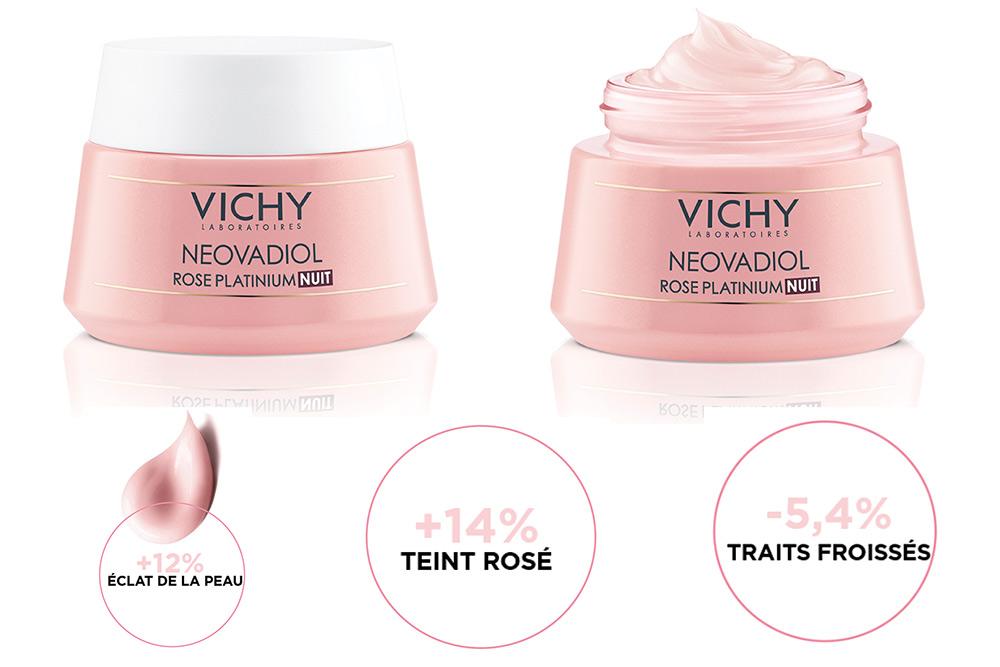 Neovadiol Rose Platinium Nuit de Vichy