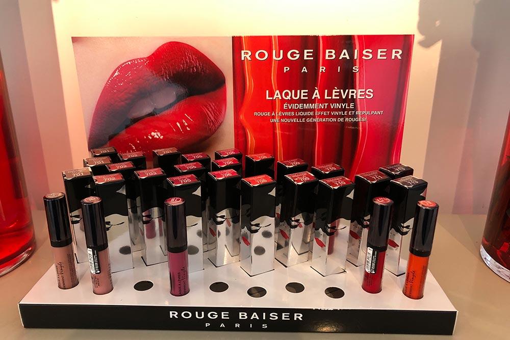 Rouge Baiser : Gamme