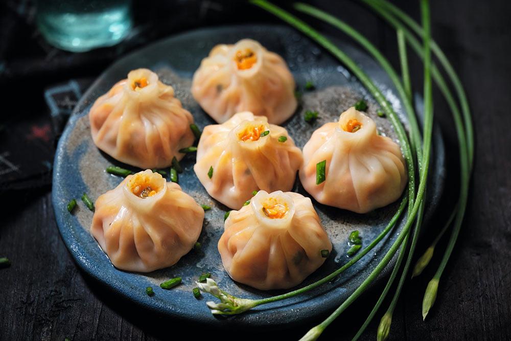 Asie - 8 Mandu au poulet et au kimchi de Corée