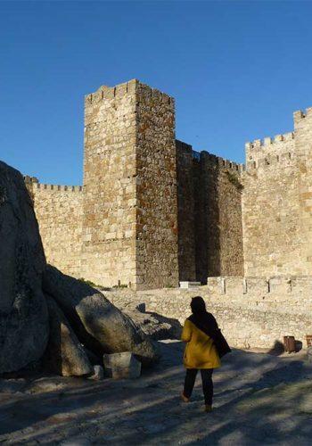 Estrémadure : L'Alcazaba ou forteresse arabe