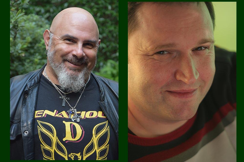 Hervé Richez et Juan deux des auteurs de la BD