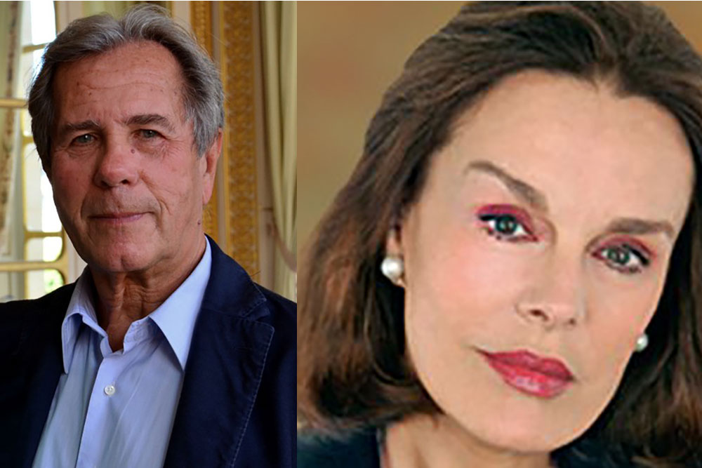 Catherine Nay et Jean-Louis Debré