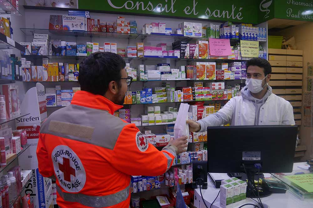 La Croix Rouge - livraison