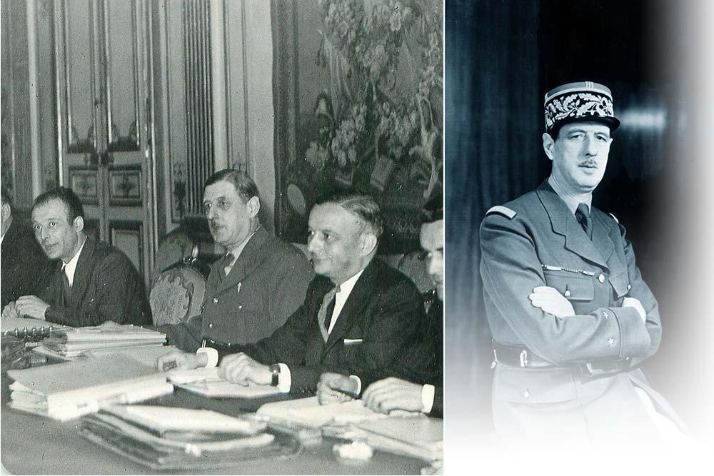 General De Gaulle - Gouvernement provisoire de la République française
