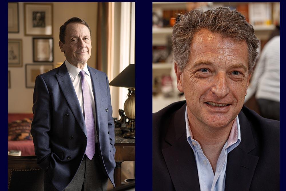 Jean luc Barre et Hervé Gaymard