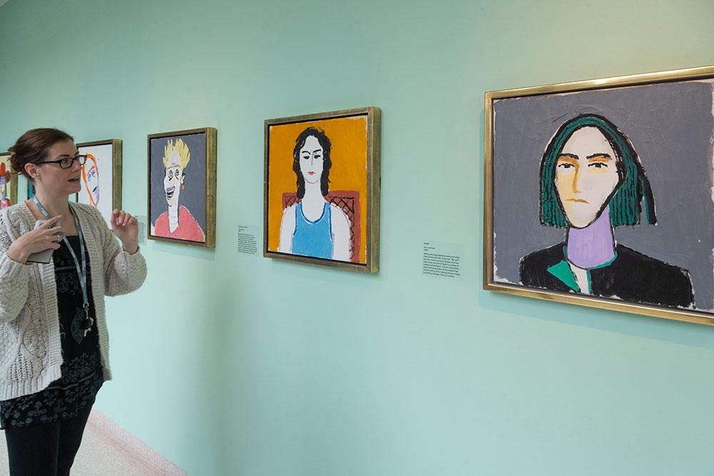 Quelques portraits réalisés par Victor Willing. On attribue à l'artiste une centaine d'œuvres.