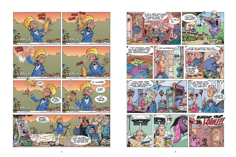 Les Seniors 3 - Bande dessinée