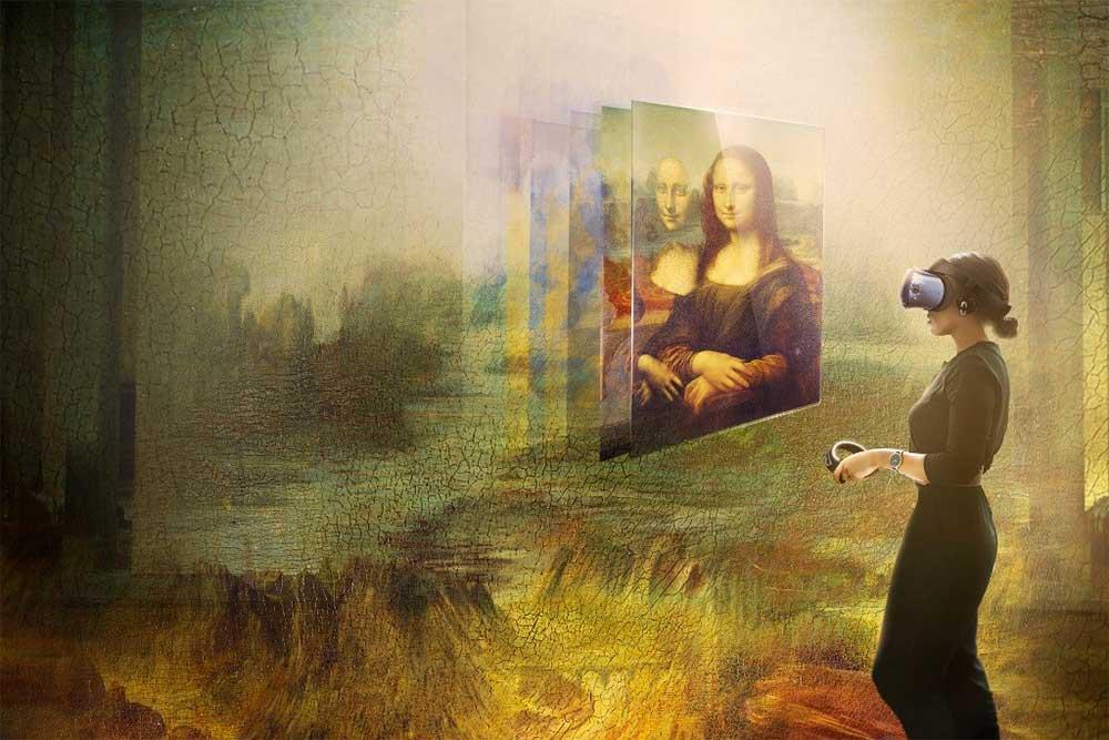 Musée du Louvre - Visite Virtuelle avec la Joconde
