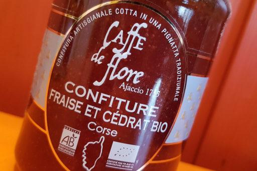 Confitures corses Caffé de Flore.
