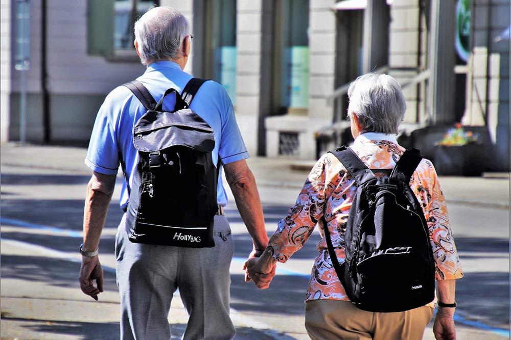 UNEP - Couple de seniors