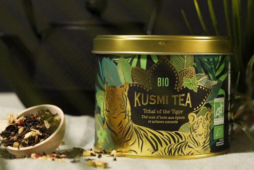 Tchaï of the Tiger, la nouvelle recette bio signée Kusmi Tea.