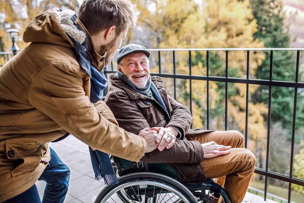 Abeya - promenade personne handicapée