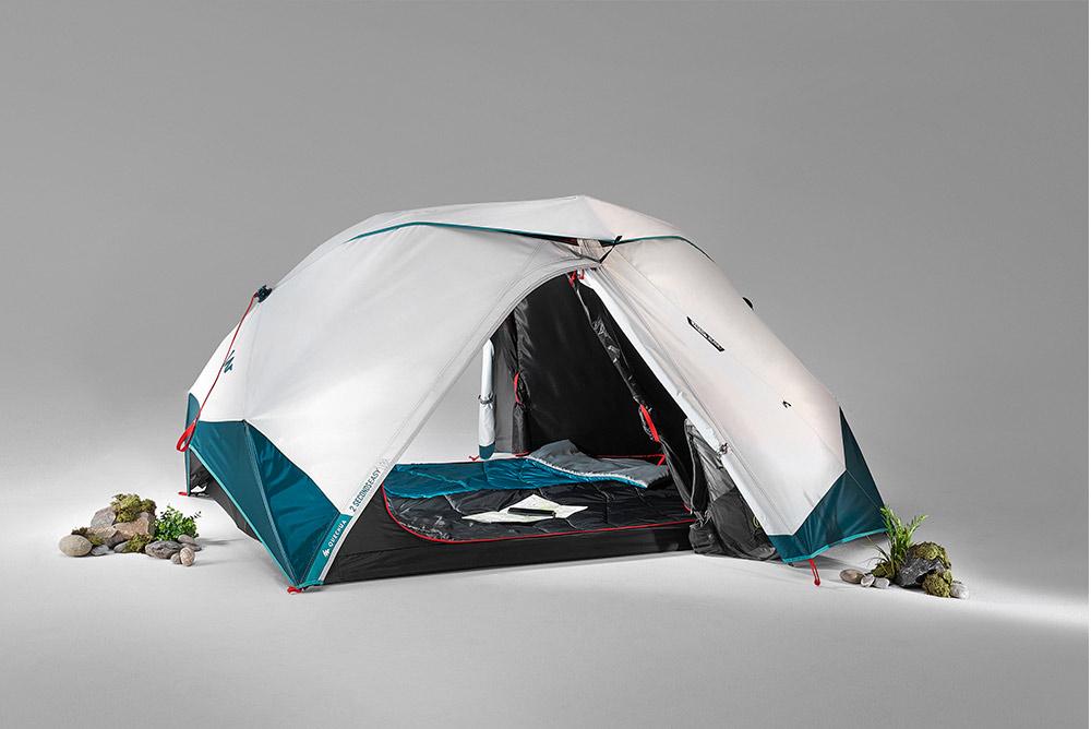 2 secondes EASY : une tente facile à monter et démonter signée Quechua