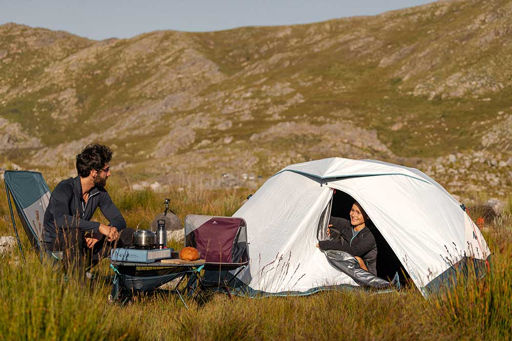 2 secondes EASY - Une week-end randonnée ? : n'hésitez pas à louer la tente.