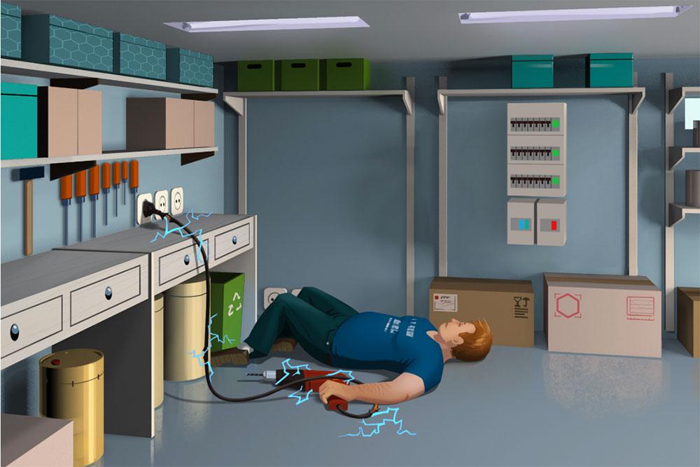 Les accidents domestiques - bricolage