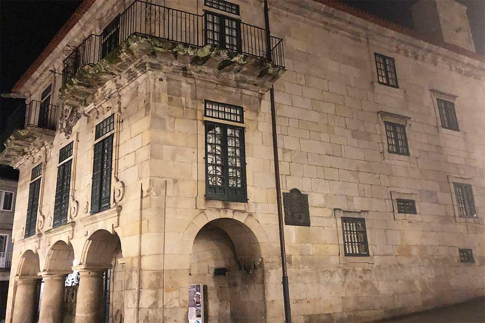 Une belle demeure dans le centre de Saint-Jacques de Compostelle