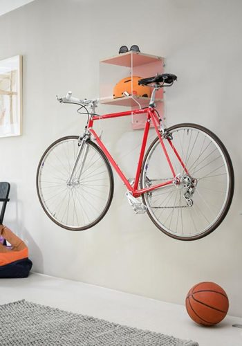 Porte Vélo - posé sur le mur