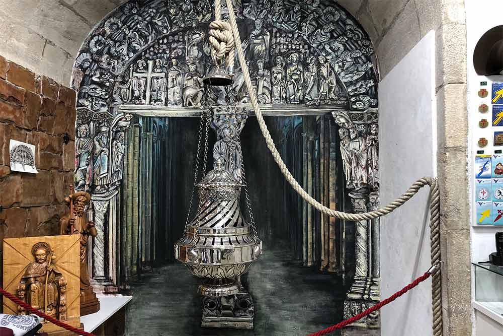 Encensoir de la Cathédrale Saint-Jacques de Compostelle