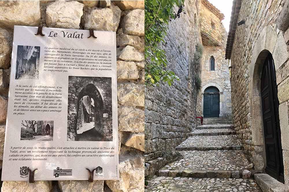 Entrée dans le Village par la Porte Sarasine