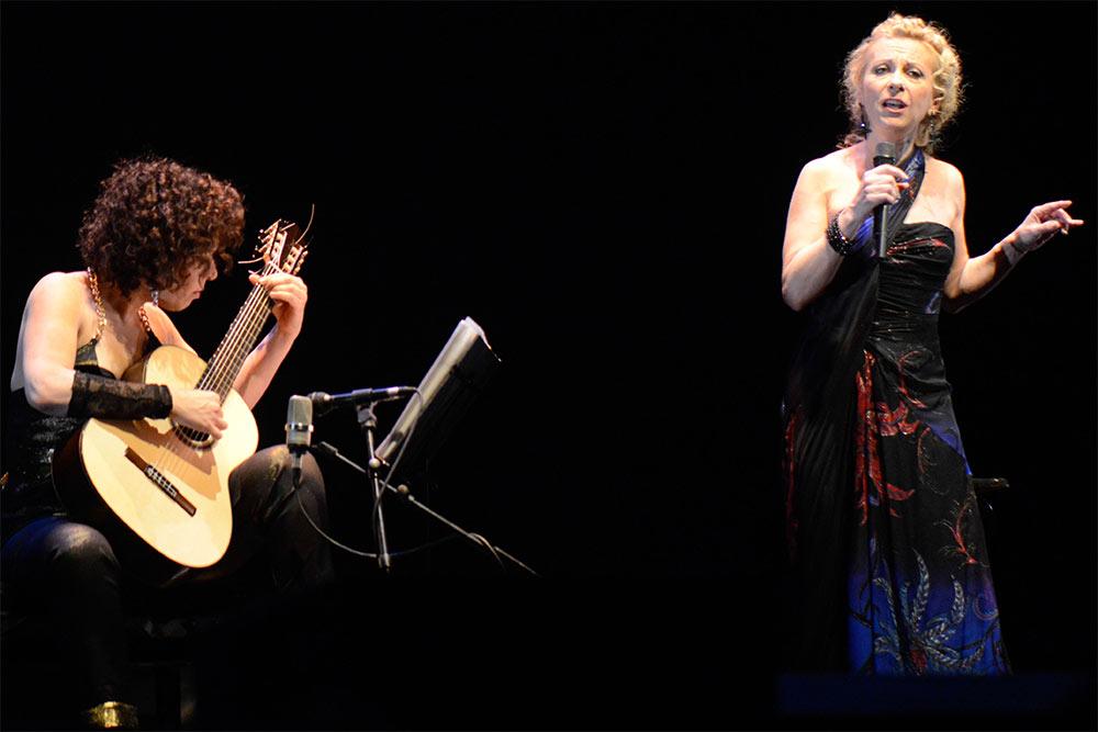 Les eaux de mars : Nathalie Dessays et Liat Cohen