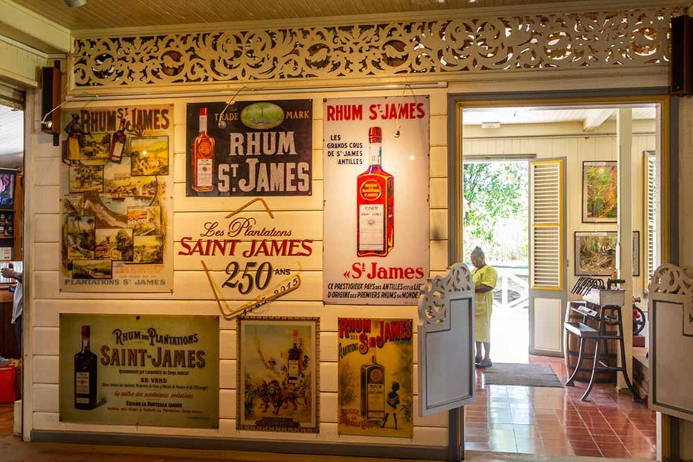 Le musée Saint James en Martinique