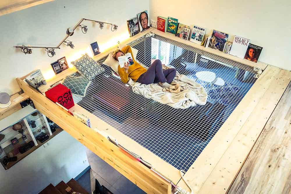 Filet d'appartement par France Trempoline