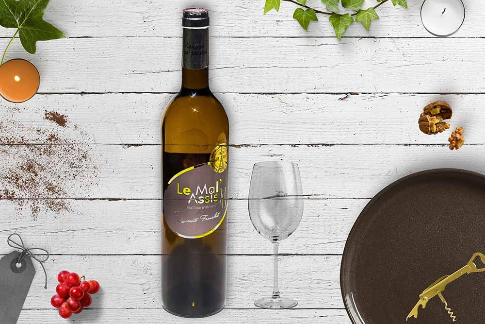Le Mal Assis : vin blanc