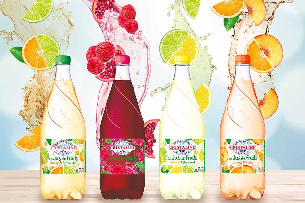Fruit et Pétille - une boisson aromatisée pétillante