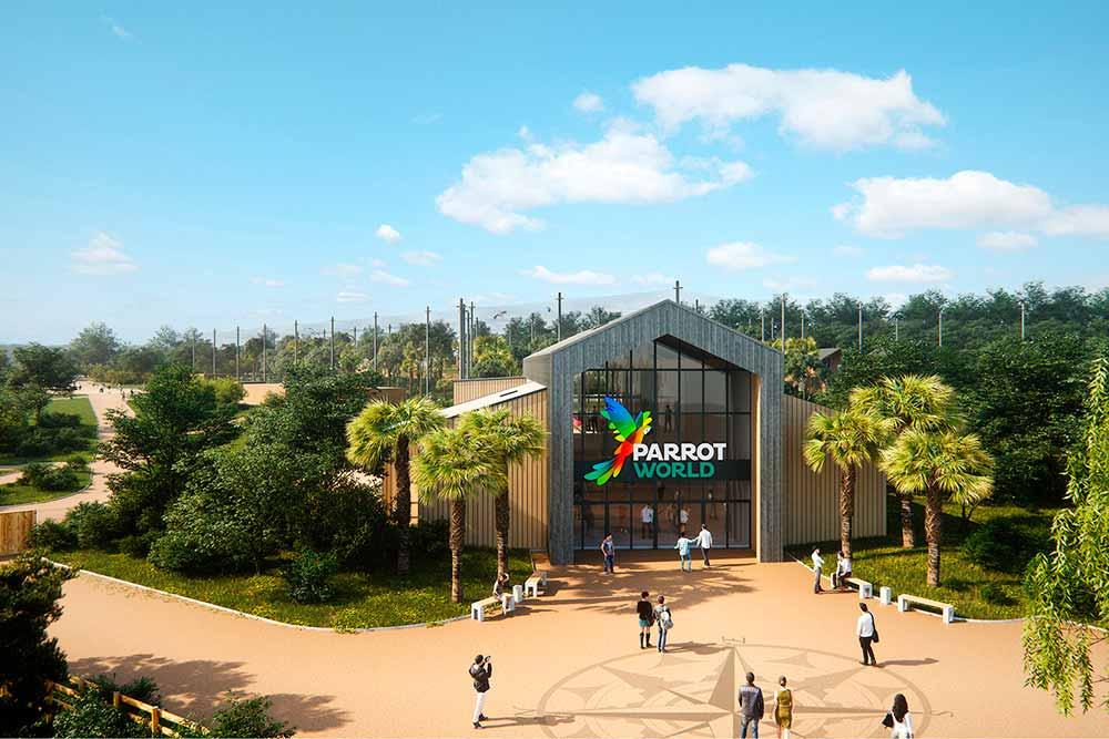 Parrot World - ouvre ses portes le 15 aout 2020.