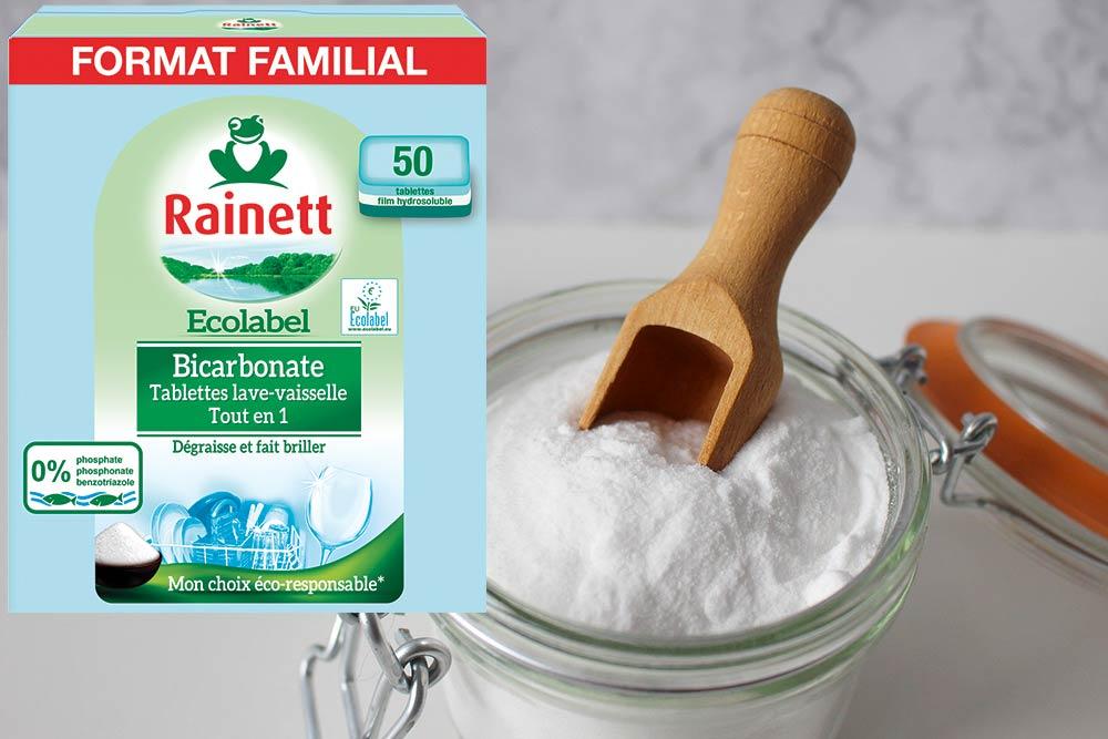 Tablettes Lave-Vaisselle au Bicarbonate