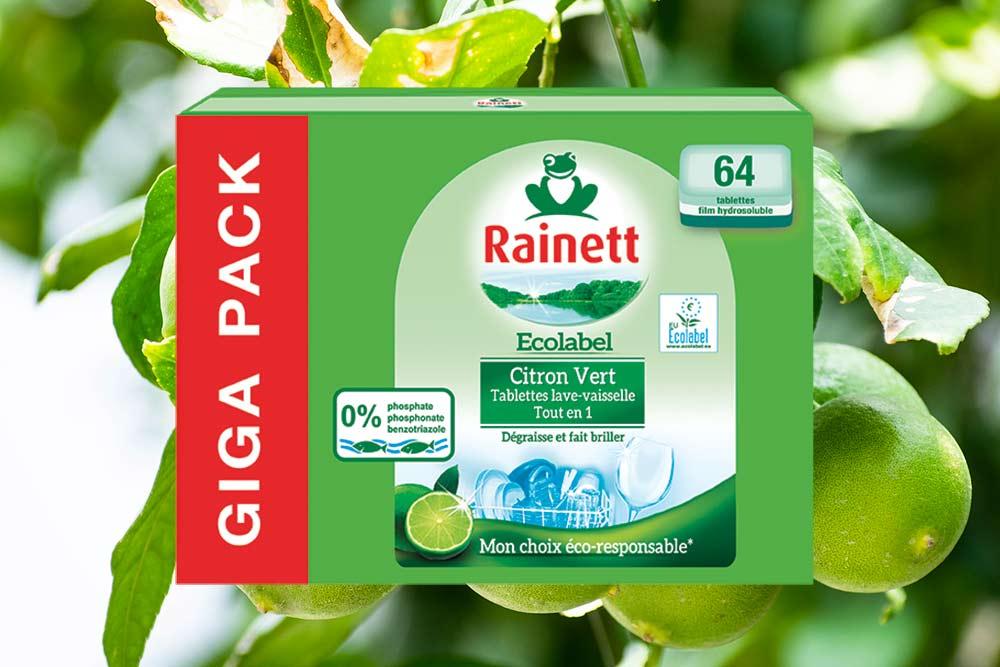 Tablettes Lave-Vaisselle au Citron Vert