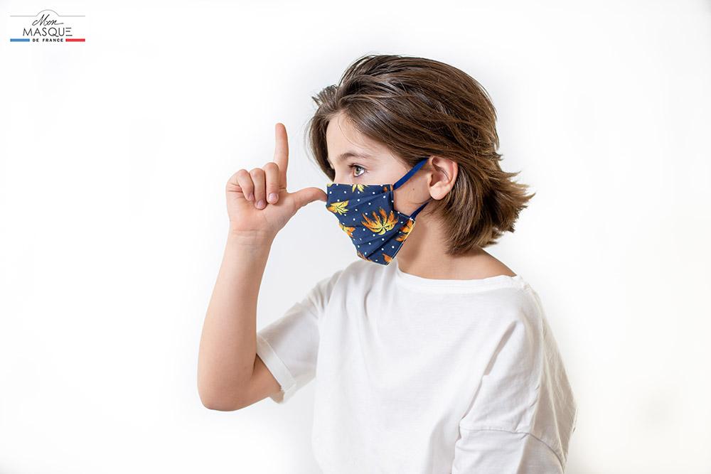 Masque de France - Modèle enfant Nice Classique
