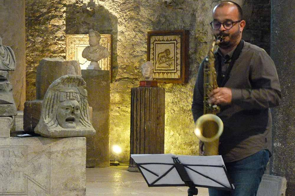 Concert de jazz au musée archéologique Saint-Pierre
