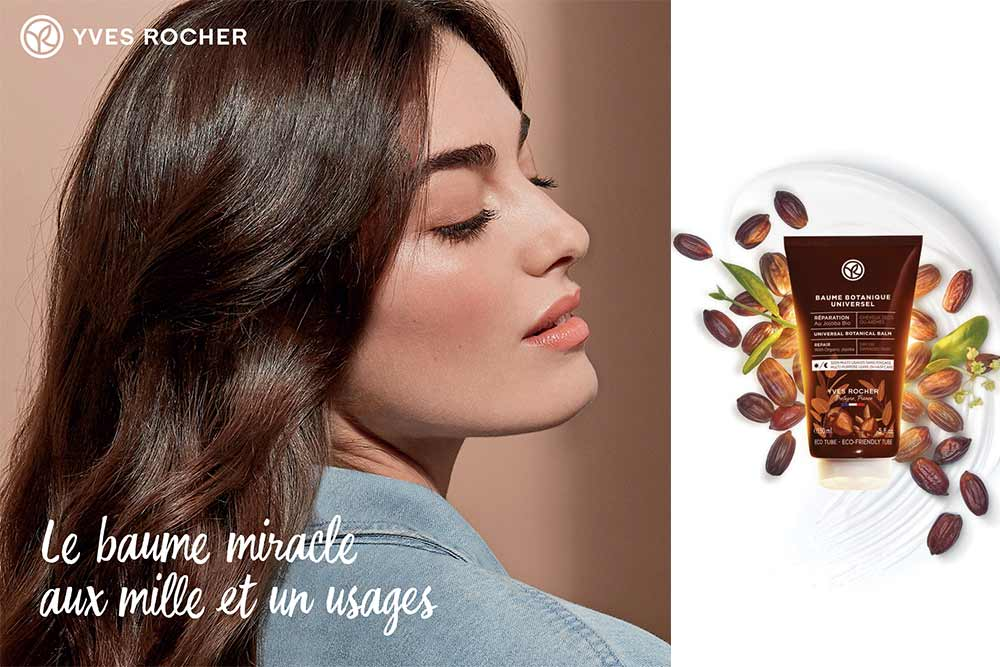 Baume pour cheveux Yves Rocher