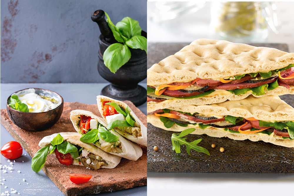 Pita et pain suédois