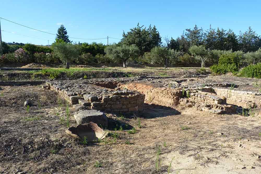Vestiges de la villa gallo-romaine