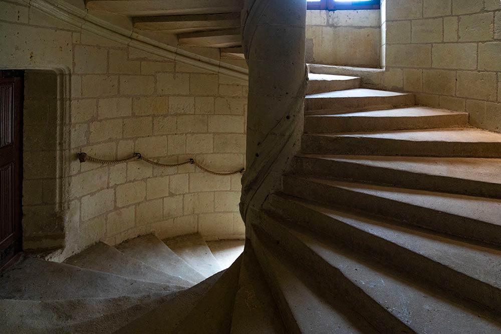 L'escalier à visse…