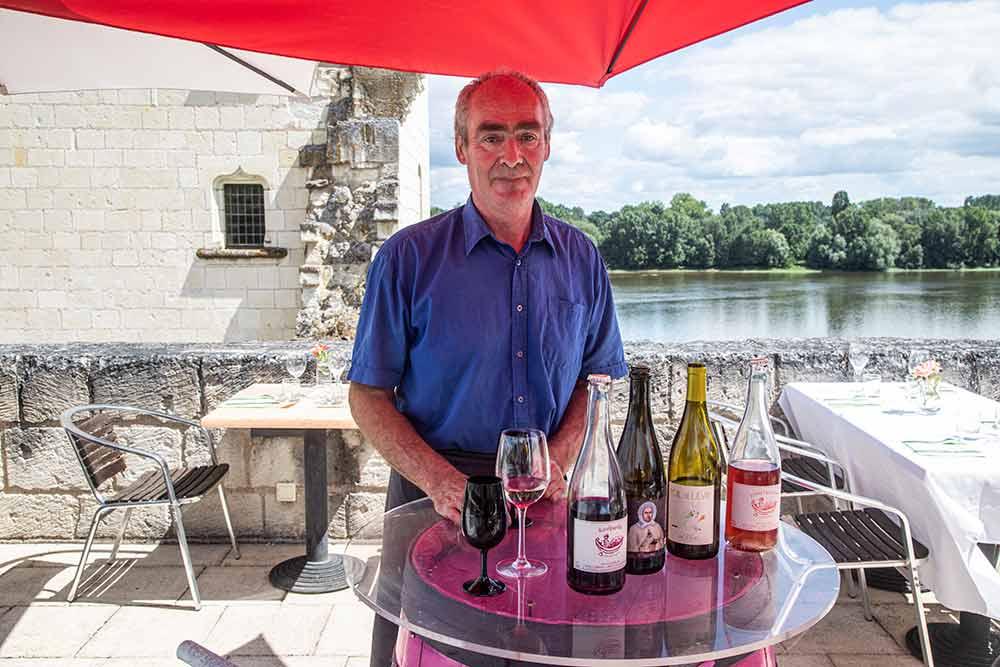 Anjou - Le Chef du Jean2, Jean-Michel Fontaine nous a fait découvrir une sélection de vins naturels.