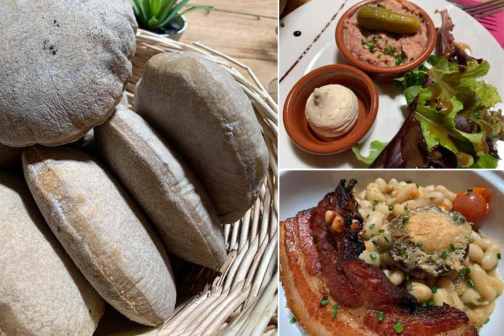 Au menu: fouées à volonté, rillettes, mojettes, rillauds et salade…