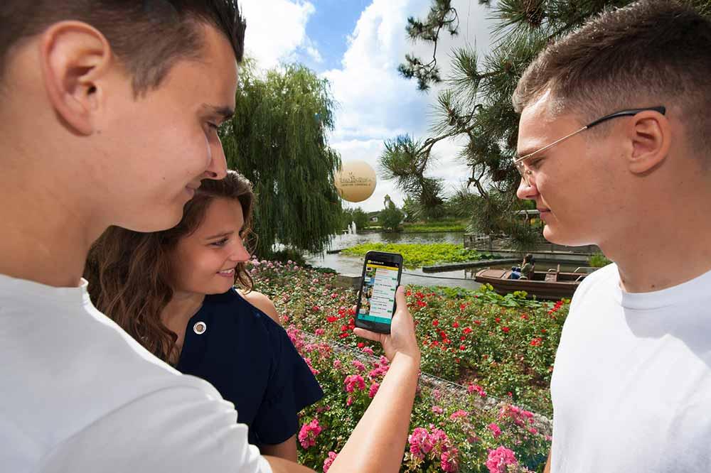 Andégave Tourisme & Loisirs, une application très utile, notamment à Terra Botanica®.