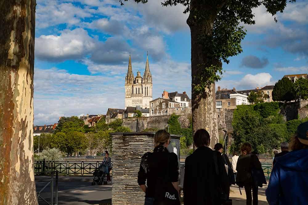 ANJOU - Direction centre ville d'Angers