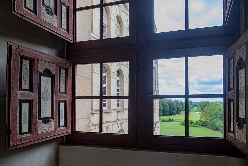 Fenêtre sur le parc.
