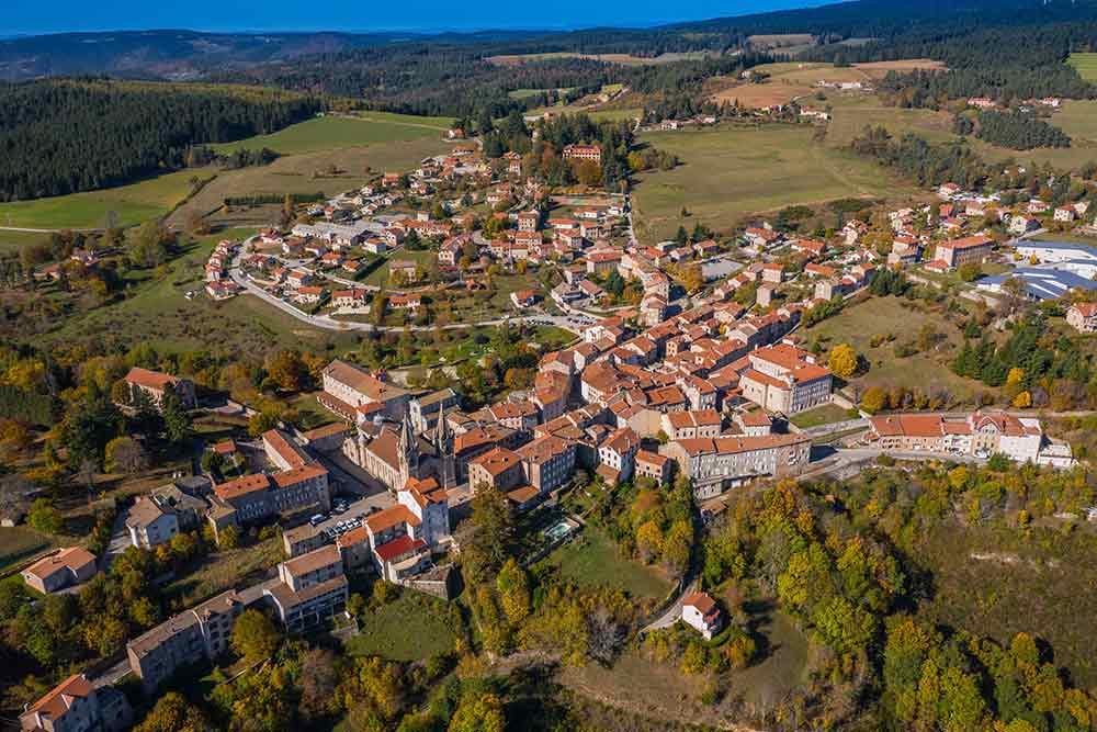 Lalouvesc en Auvergne