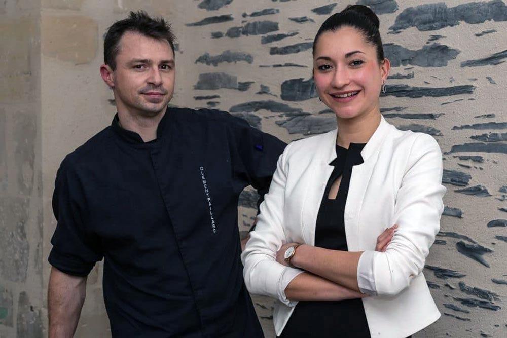 Clément Paillard et sa compagne Tiffany Ganahoa (©Aux Jeunes Pousses).
