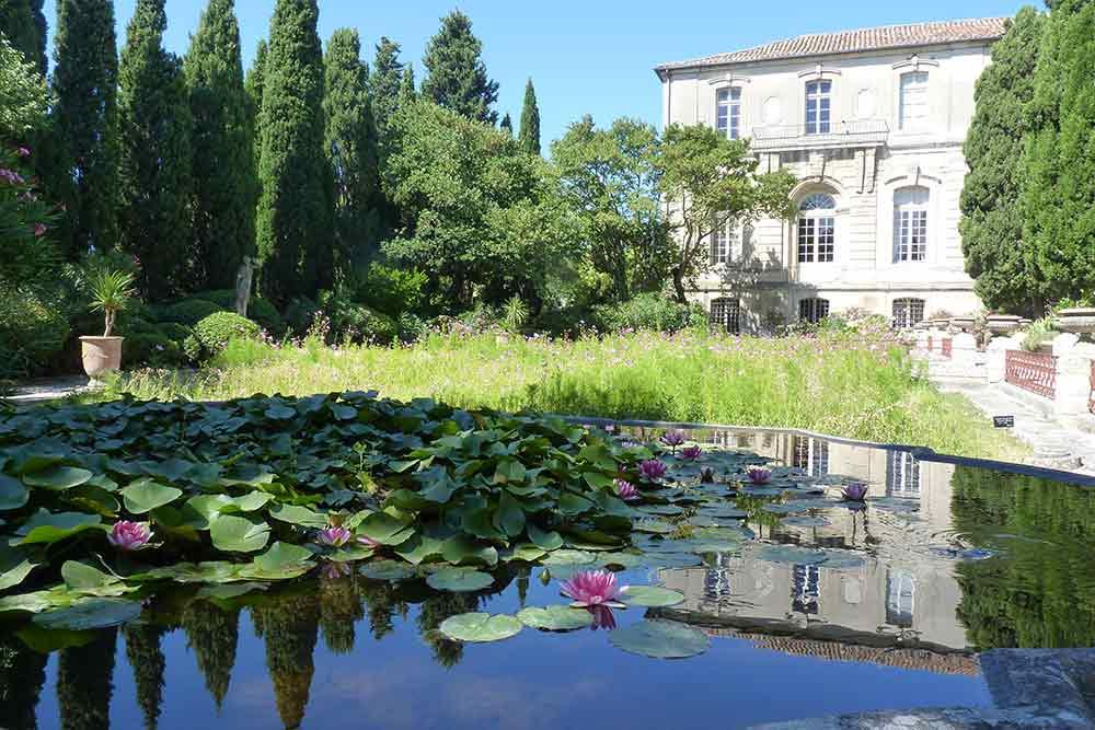 Le jardin de l'abbaye Saint-André