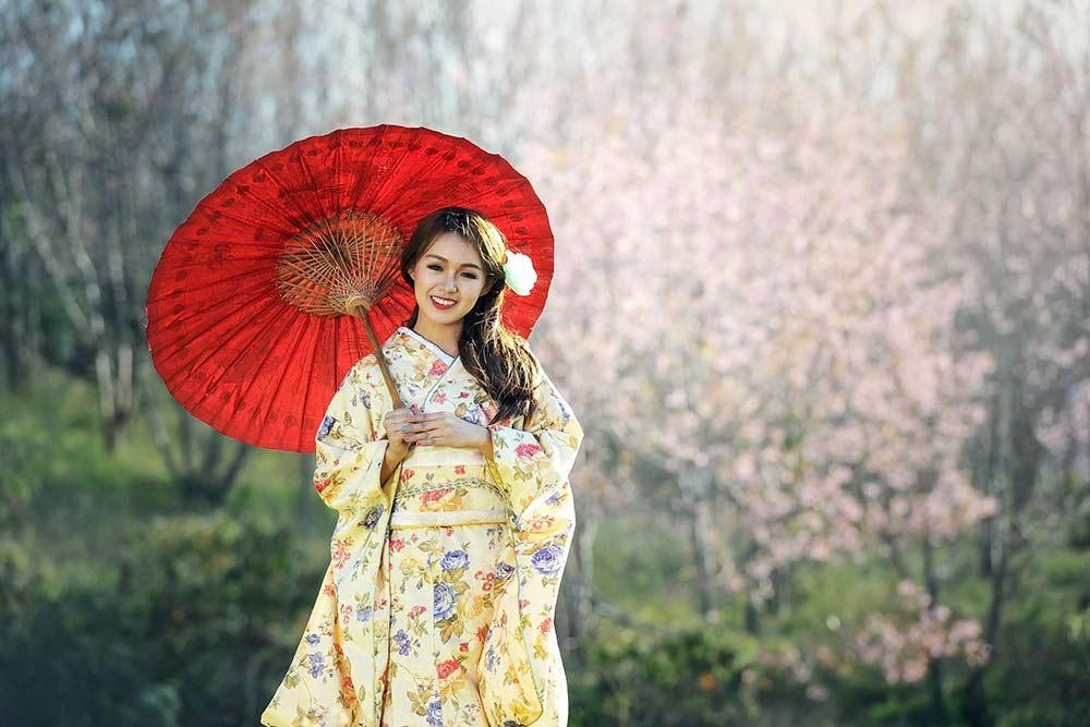 Jeune Japonaise