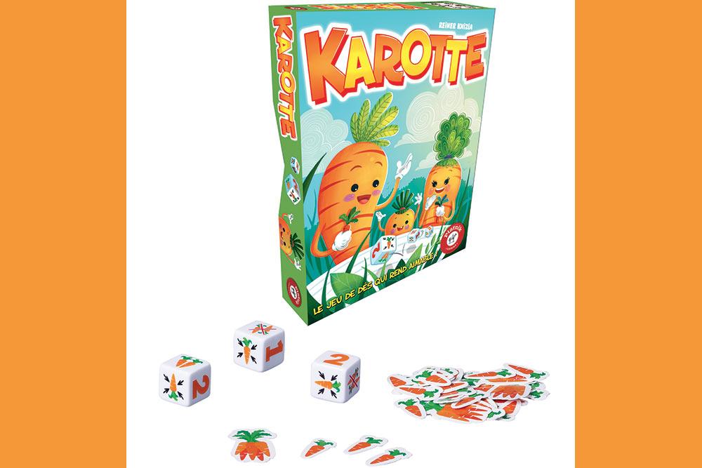 Karotte, un jeu de société bien sympathique