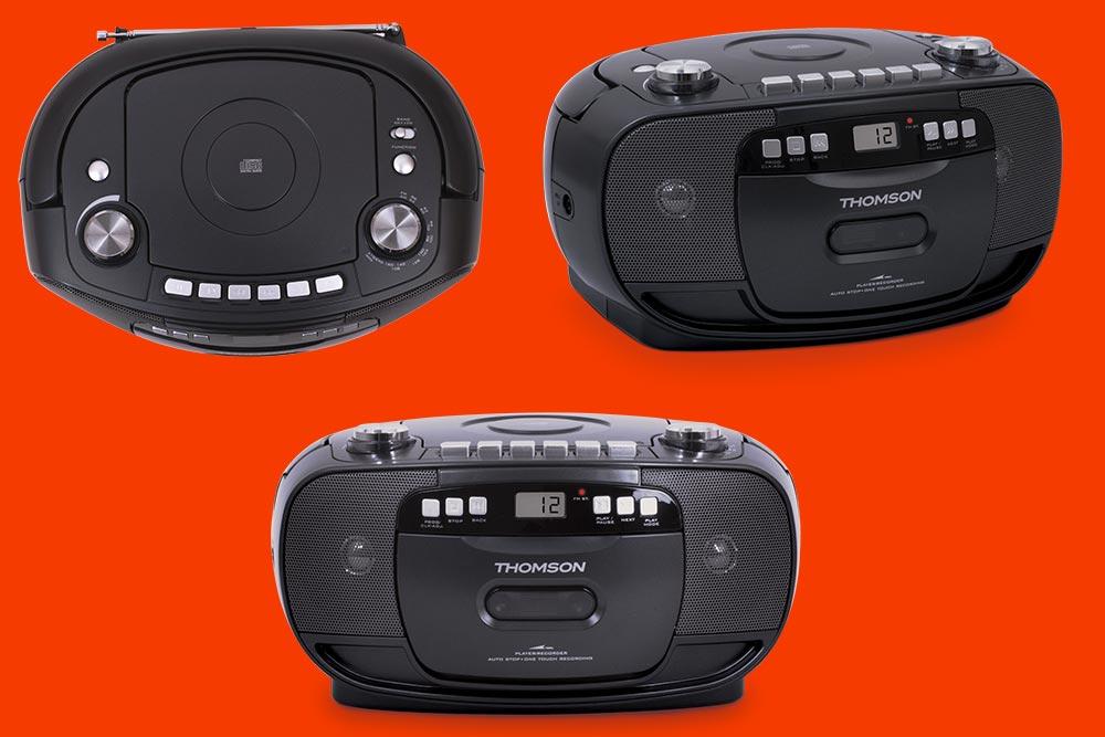 Radio-cassette-CD nomade de Thomson
